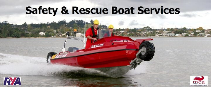 Safety Boat Services - Safety Boats - Safety Boat Hire - Rescue Boats