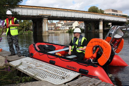 Safety Boats - Hire And Services